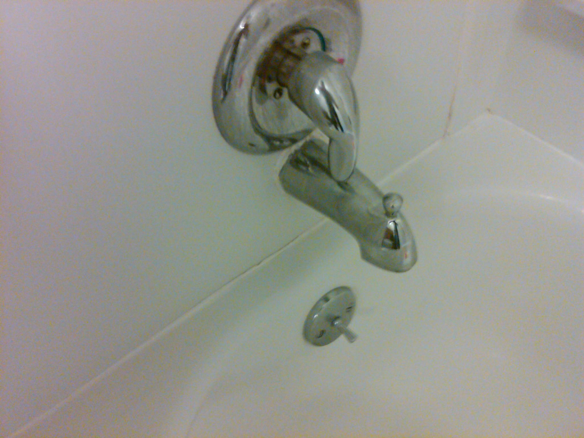 Bathtub Caulking