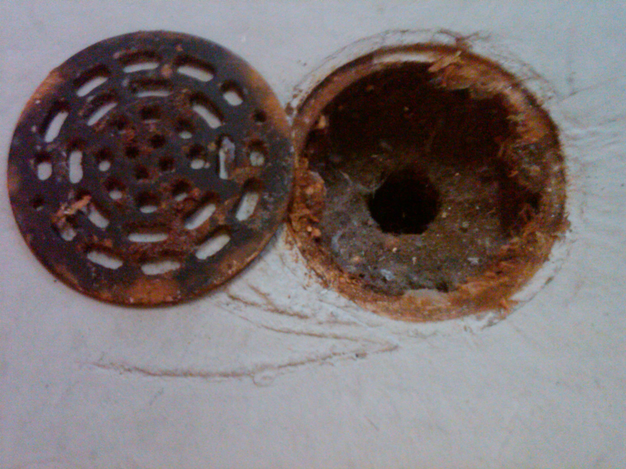 Floor Drain Cover Removal